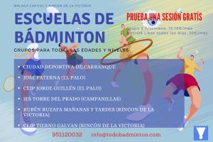 Bádminton en Málaga y Rincón de la Victoria