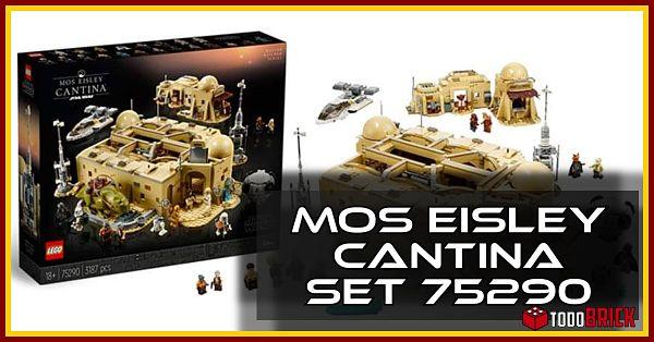 LEGO Star Wars 75290 Mos Eisley Cantina de Mos Eisley