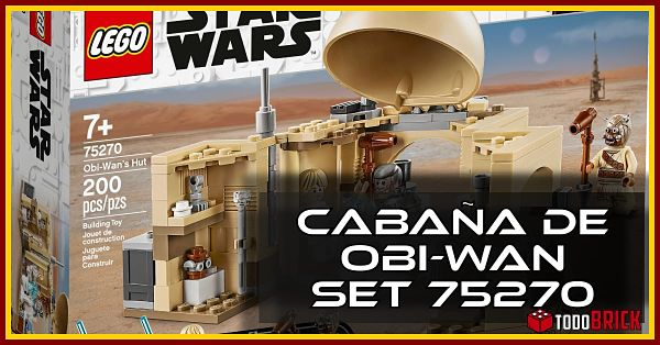 Set LEGO 75270 cabana de obi wan