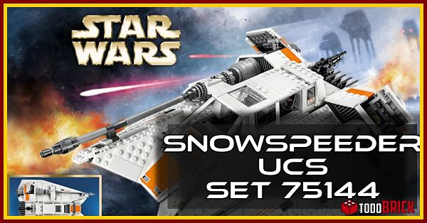 Snowspeeder 75144 de LEGO UCS