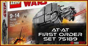 AT AT primera orden LEGO 75189