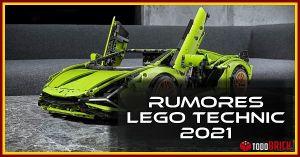 Rumores LEGO Technic 2021 lista completa