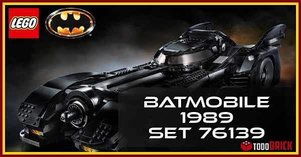 Analisis del 1989 Batmobile de LEGO 76139