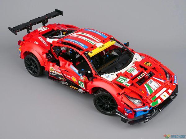 LEGO 42125 Ferrari 488 GTE montado