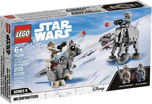 Nuevo microfighter de LEGO Star Wars Tauntaun y AT AT