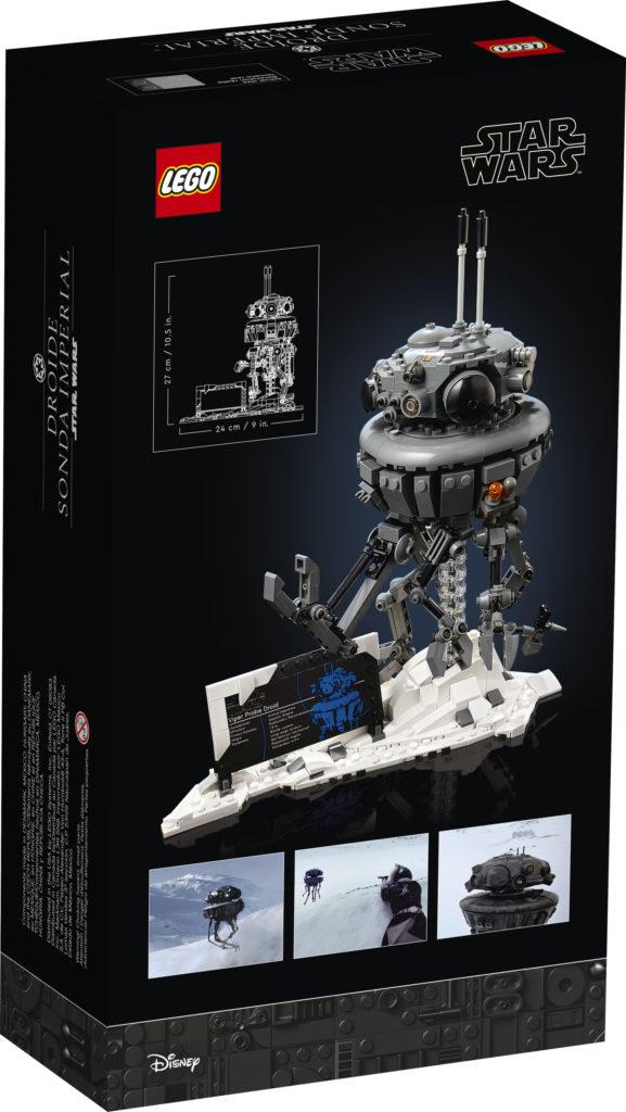 LEGO Star Wars 75306 Droide Sonda Imperial caja trasera