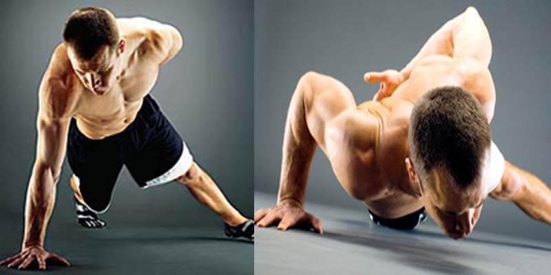 flexiones a una mano ejecución