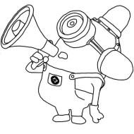 Desenhos Para Colorir Dos Minions Como Colorir Minions
