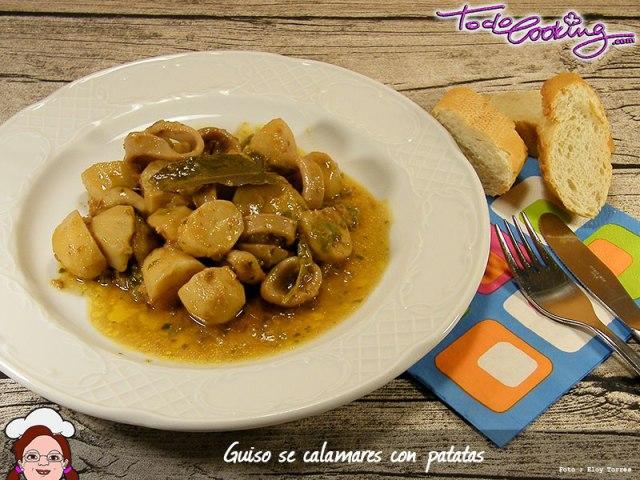 Guiso Calamares Patatas