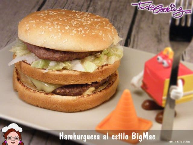 Hamburguesa estilo BigMac