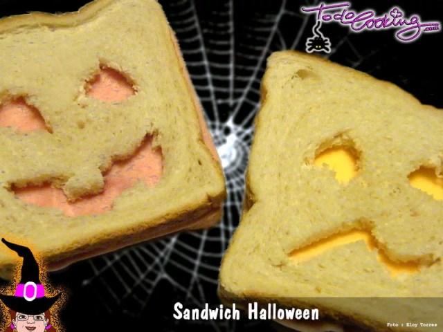 Sandwich Halloween