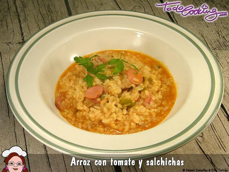 ArrozTomateSalchicas1