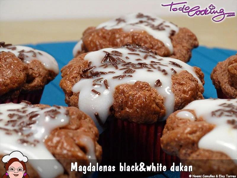 Magdalenas Black & White Dukan