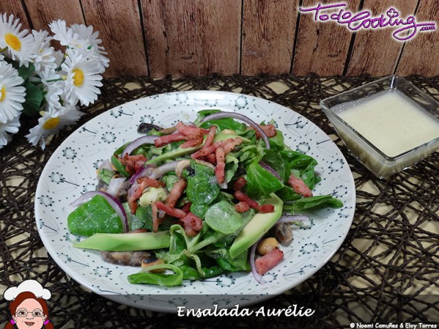 Ensalada Aurelie ensalada de canónigos