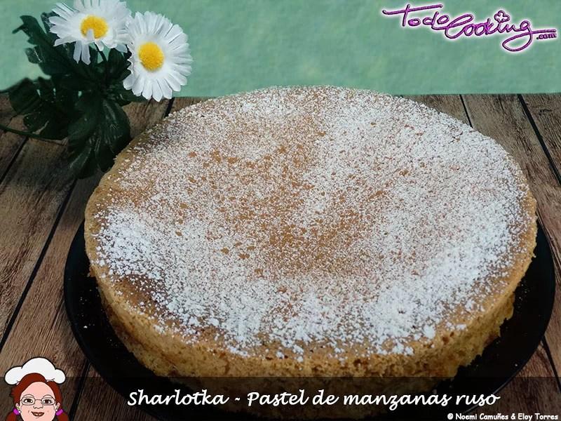 Sharlotka---Pastel-de-manzanas-ruso3