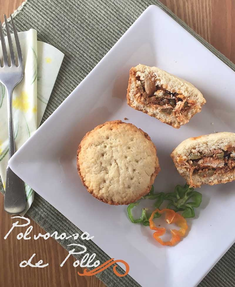 polvorosa-pollo recetas de pollo y pavo