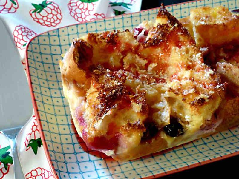 ##Pastel de pan duro, sin lactosa (12 delicias sin lactosa)