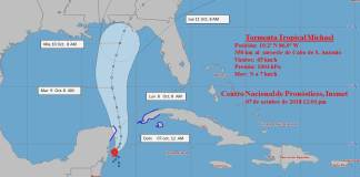 TORMENTA TROPICAL MICHAEL