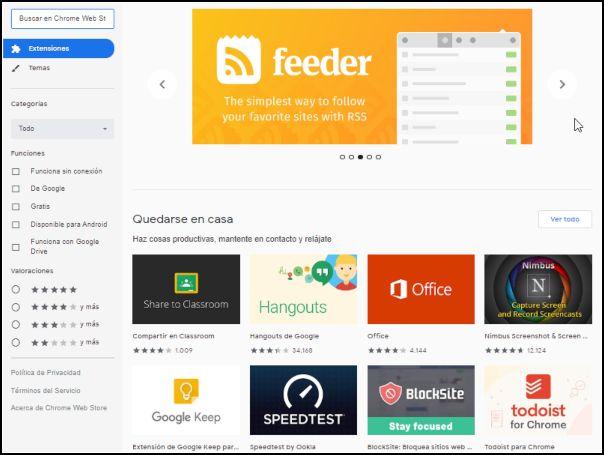 Chrome App Store