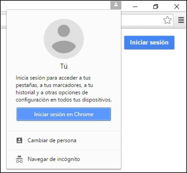 cuenta Google Chrome
