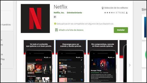 descargar Netflix para móvil
