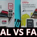 Cómo saber si una micro SD es original