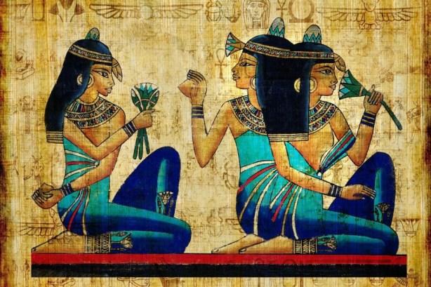 Resultado de imagen de mujeres egipcias cuidados piel