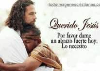 Imágenes cristianas: El abrazo de Jesús