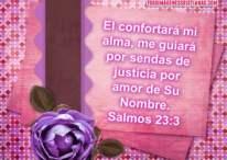 Imágenes Cristianas: El Señor confortará mi alma