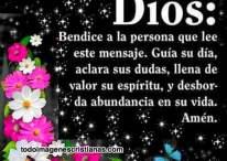 Imágenes Cristianas: Dios bendice