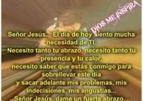 Imágenes Cristianas: Señor Jesús, dame un fuerte abrazo