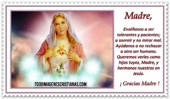 imagenes cristianas de gracias madre