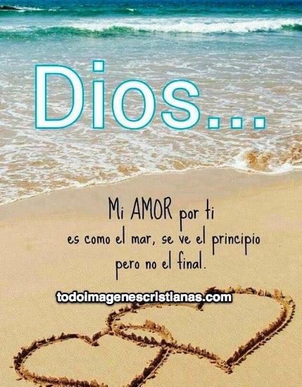 imágenes cristianas mi amor por dios