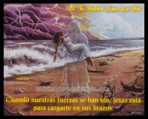 imagenes cristianas jesus te da fuerzas