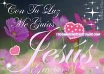 Imágenes Cristianas: Jesús guia mi camino