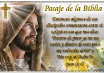 Pasajes de la Biblia: Juan 16:17