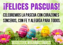 Desea Felices Pascuas a tus amigos con esta hermosa imagen