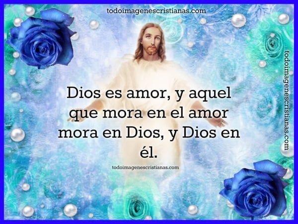 dios es amor frase