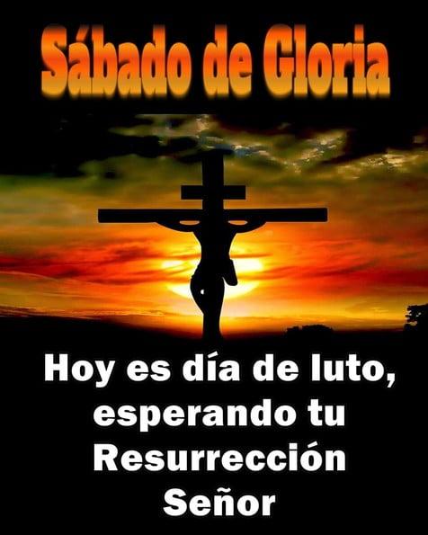 sábado santo sábado de gloria