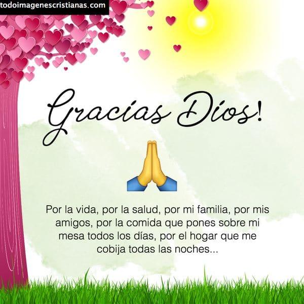 Agradecimiento Imágenes Cristianas Gratis