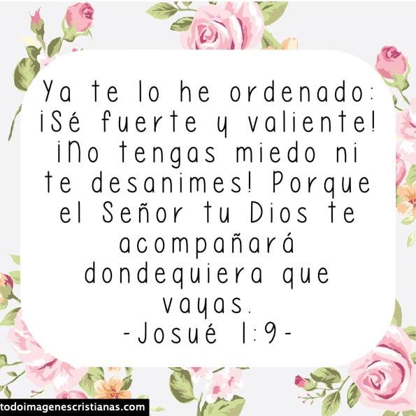 tarjetitas josué 1:9