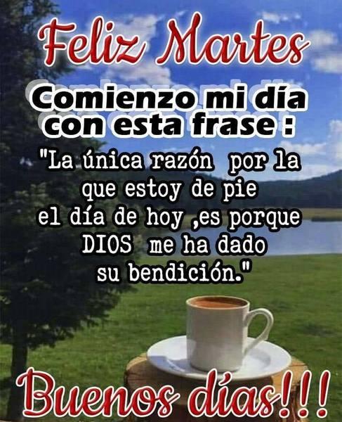 Feliz martes cristiano