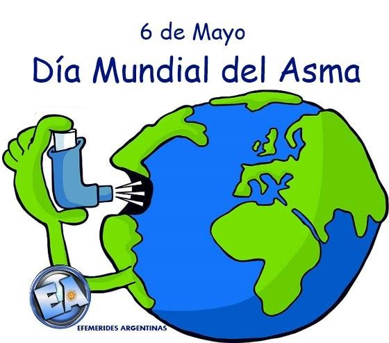 Resultado de imagen de día internacional del asma