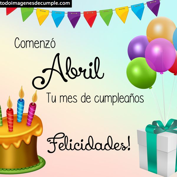 cumpleaños abril