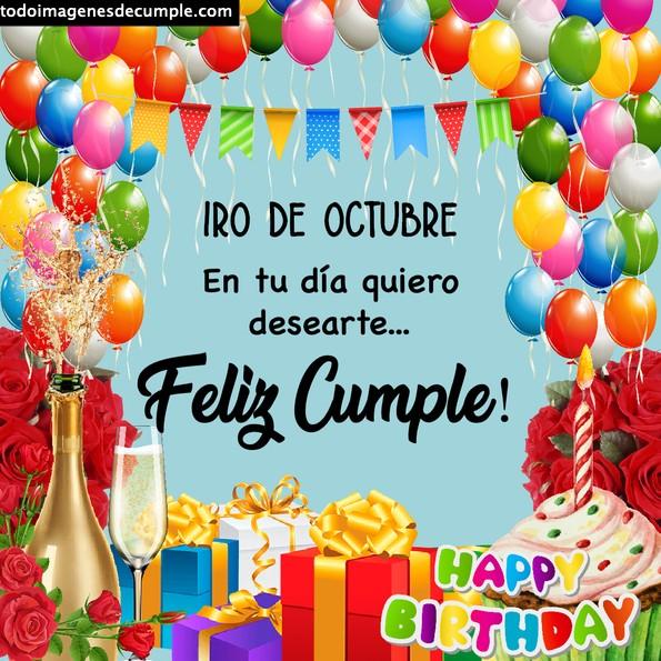 Imágenes de cumpleaños 1 de octubre
