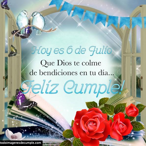 cumpleaños julio