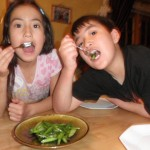 Kids love asparagus!
