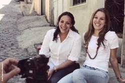 Documentario Todo Mapa tem um discurso - Credito foto Francine Albernaz (12) - Natalia Ainsengart Santos e Patricia Azevedo na Mangueira