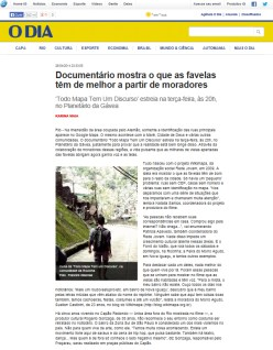 todomapatemumdiscurso_jornal_o_dia