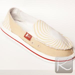 zapatillas de tela beige (alpargata WAX) Valor: $ 16.990